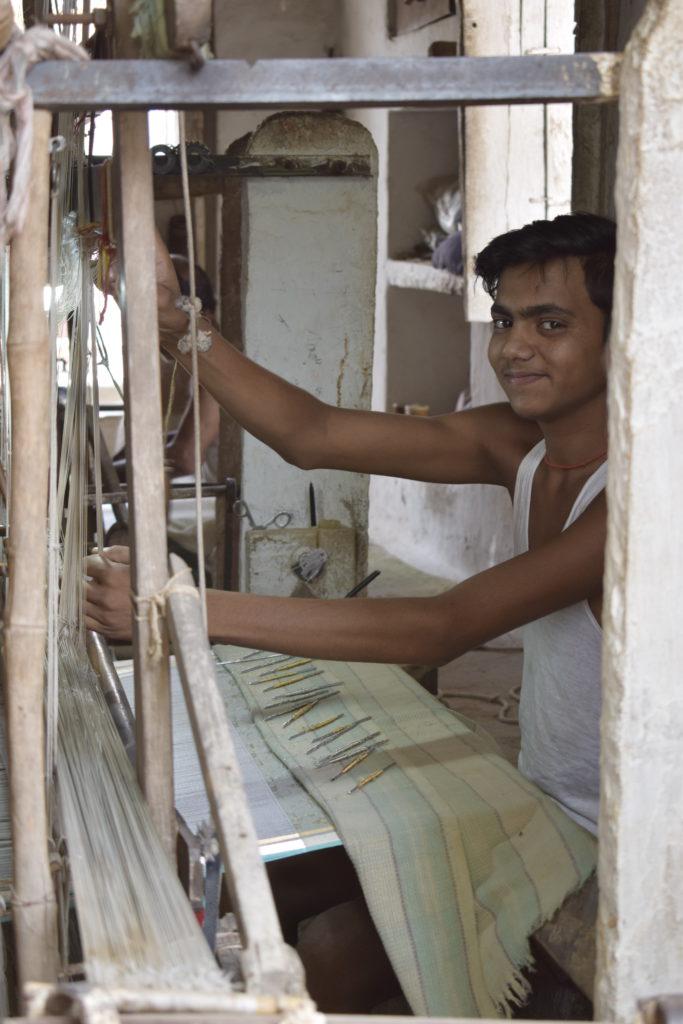 chanderi weaving